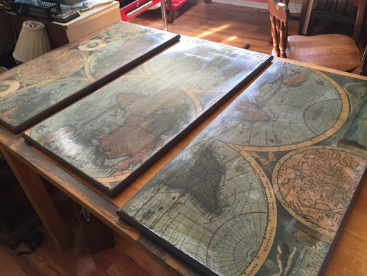 Map Table DIY