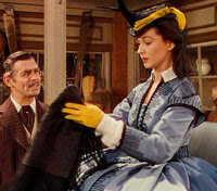 """Movie/TV Memorabilia:Costumes, A Vivien Leigh Period Dress from """"Gone With The Wind.""""..."""