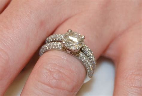 Round Brilliant Engagement Ring with Micro Pave Band