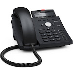 snom D375 VoIP Phone - Black Blue