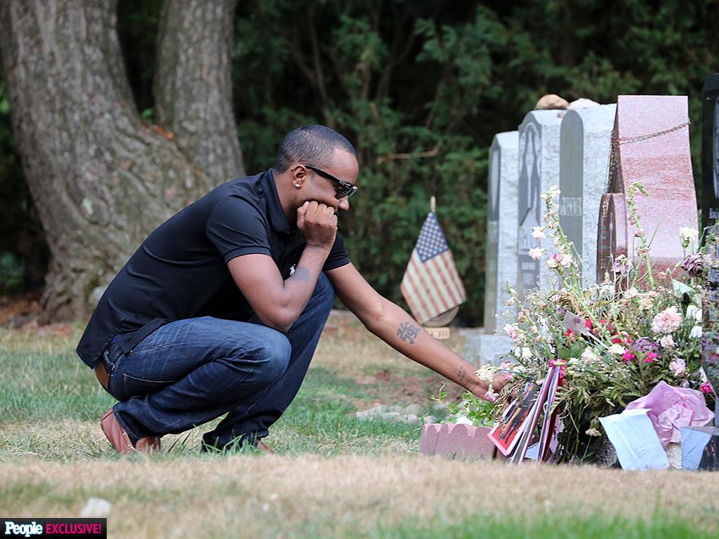 Nick Gordon Visits Bobbi Kristina Brown's Grave: