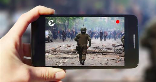 Reporting from the front lines with mobile journalism
