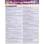 BarCharts Nursing Math Reference Guide