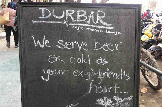 "Cold is ""Beer as Cold as Your Ex-girlfriend's Heart"""