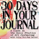 Balzer Designs: 30 Days in Your Journal