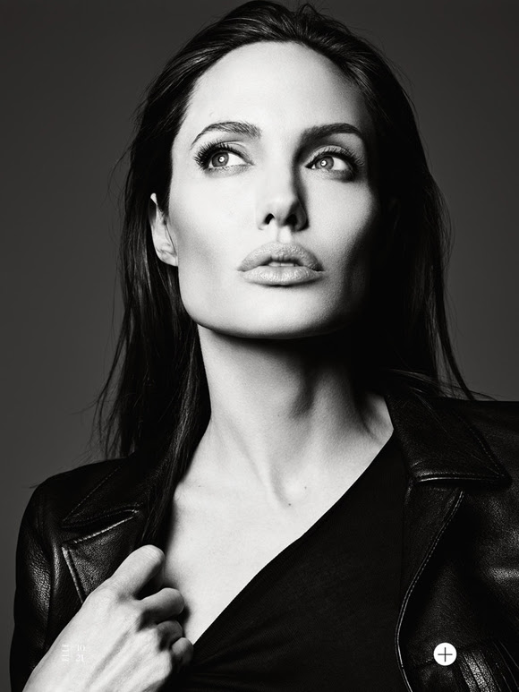 Angelina Jolie by Hedi Slimane Elle US 12
