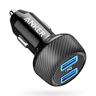 Anker - PowerDrive Elite Vehicle Charger - Black