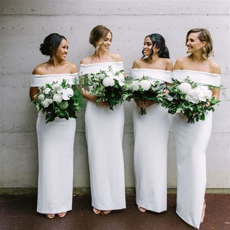 Can My Bridesmaids Wear White Dresses?   Brides