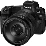 Canon EOS R 30.3 MP Mirrorless with Live View mode, movie recording Ultra HD Digital Camera - 4K - RF 24-105mm F4 IS USM Lens