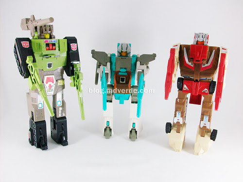 Transformers Headmasters G1 - modo robot