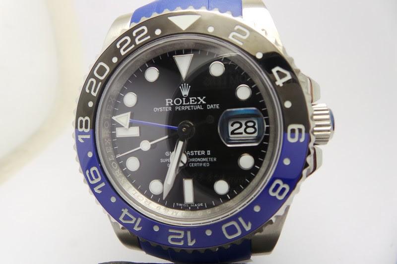 Replica Rolex GMT-Master II Blue Black Watch