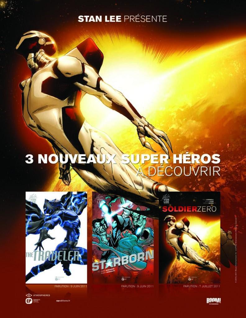 """Concours comics """"Stan Lee"""" sur Superpouvoir.com"""
