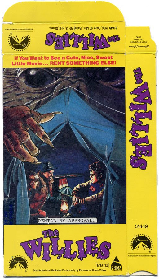The Willies (VHS Box Art)