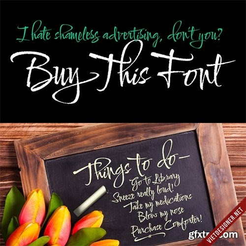 Comforter Font Family - 6 Fonts $120