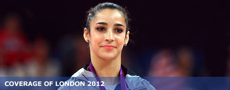 Gold medalist Alexandra Raisman of the United States (Ronald Martinez/Getty Images)