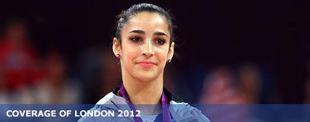 Gold medalist Alexandra Raisman of the United States (Ronald Martinez/Getty Images)