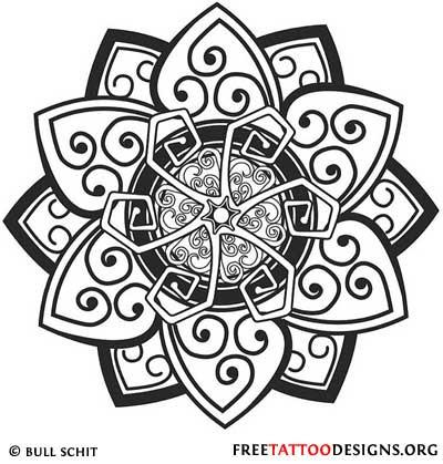 Tribal Tattoo Designs Armband Cross Lion Sun Tribal Tattoos