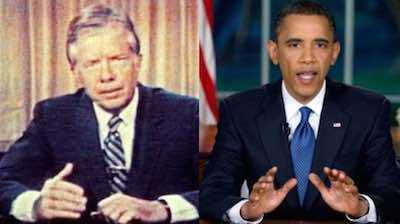 The Malaise Has Returned, Jimmy Carter, Obama