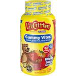 L'il Critters Multi Vites Dietary Supplement Gummies - Fruit - 190ct, Kids Unisex, Size: 190 Count