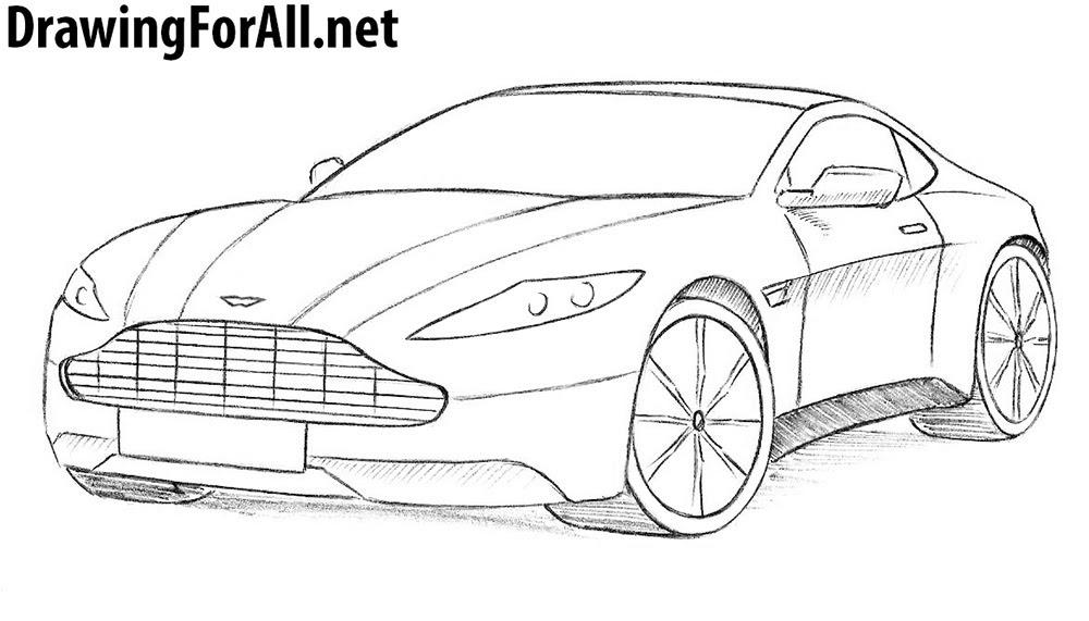 How To Draw An Aston Martin Drawingforall Net