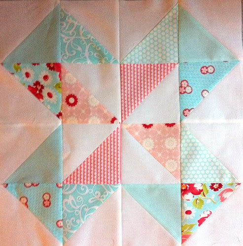 Sew Beautiful Block for AnneMarie