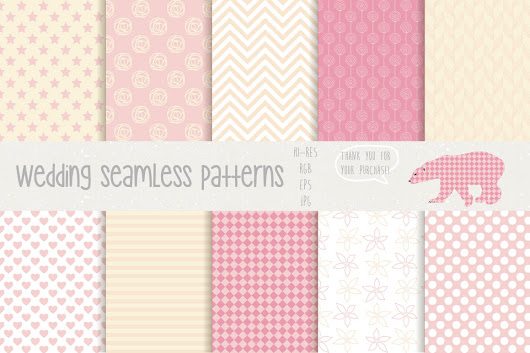 [SHARE] Một số seamless pattern cho anh em ^^