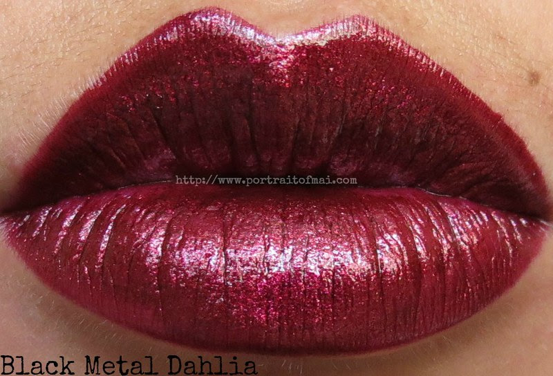 OCC Black Metal Dahlia