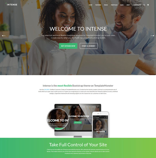 15+ Best Flexible Multipurpose HTML5/CSS3 Website Templates 2016 - DesignMaz