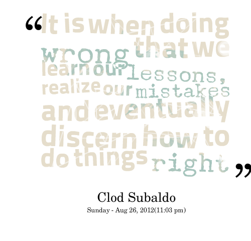 Wrong Doing Image Quotation 5 Sualci Quotes