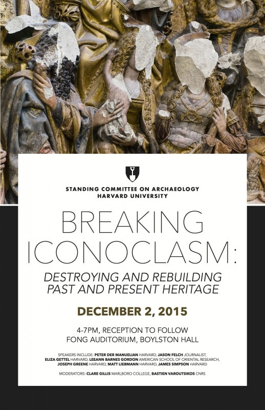 SCA Special Event: Breaking Iconoclasm: Destroying and Rebuilding Past and Present Heritage