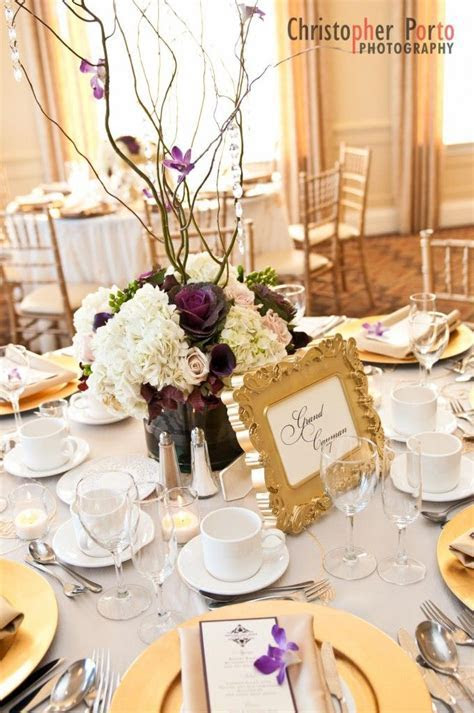 17 Best ideas about Purple Gold Weddings on Pinterest