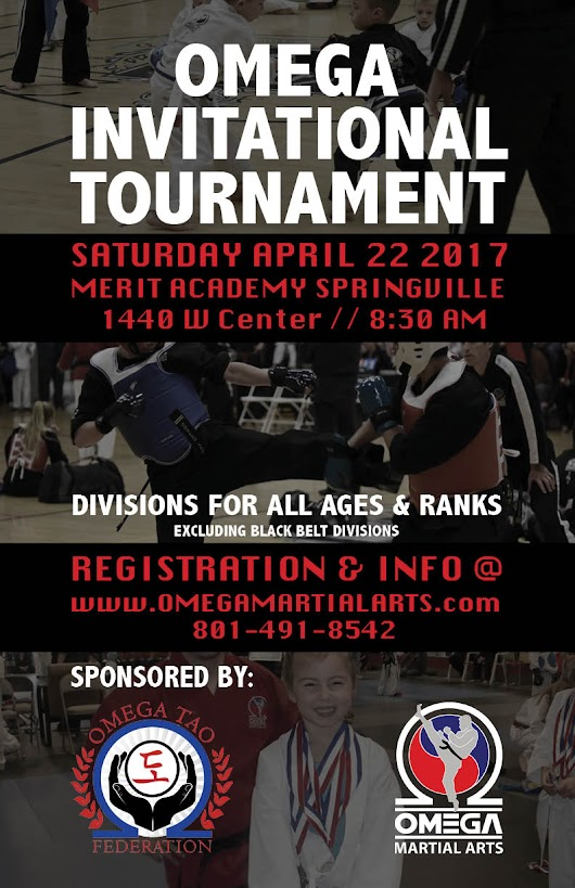 OMEGA INVITATIONAL TOURNAMENT - Omega Martial Arts