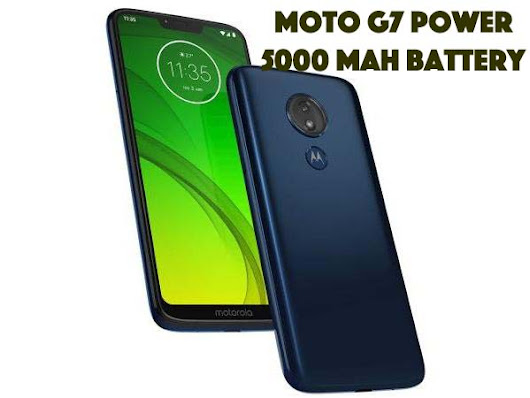 Moto G7 Power With 5000mah battery And 6.2 Inch Display Launched In India