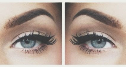 eyeliner and brows <3