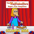 The Wafflehoffers Maple's First Competition Coloring Book | The Wafflehoffers