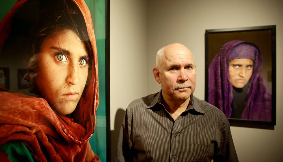 Sharbat Gula capa da National Geographic presa
