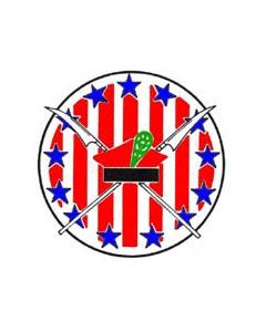 Godło 111 Eskadry Myśliwskiej w kolorze - źródło Wikipedia