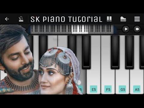 वफ़ा न रास आई Wafa Na Raas Aayi Full Piano tutorial notes | Jubin Nautiyal |