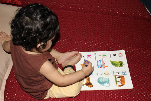God Has Been Generous Nerjis Asif Shakir Is Learning Her ABC Very Fast by firoze shakir photographerno1
