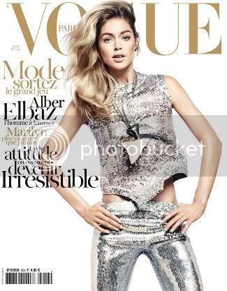 Doutzen Kroes for Vogue Paris April 2012 Cover