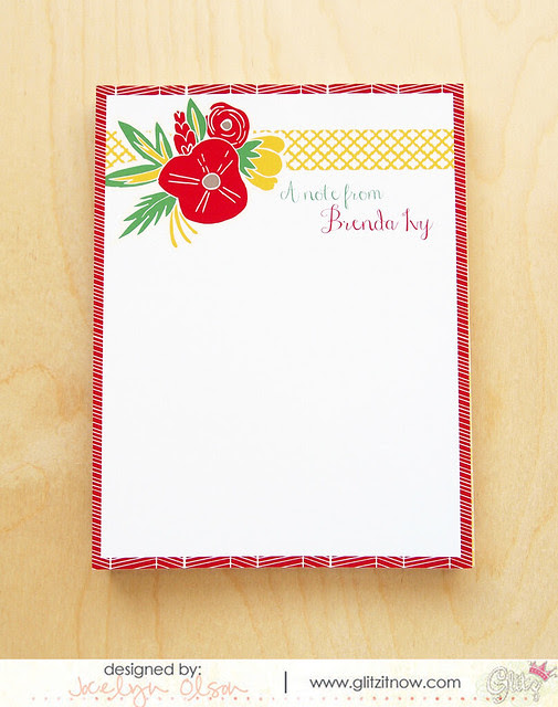 Holiday Present--Notepad