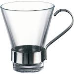 Bormioli Rocco Ypsilon Espresso With Metal Handle | Set Of 4 - 430400GRB021990