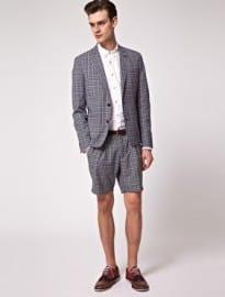 Asos Check Blazer & Shorts