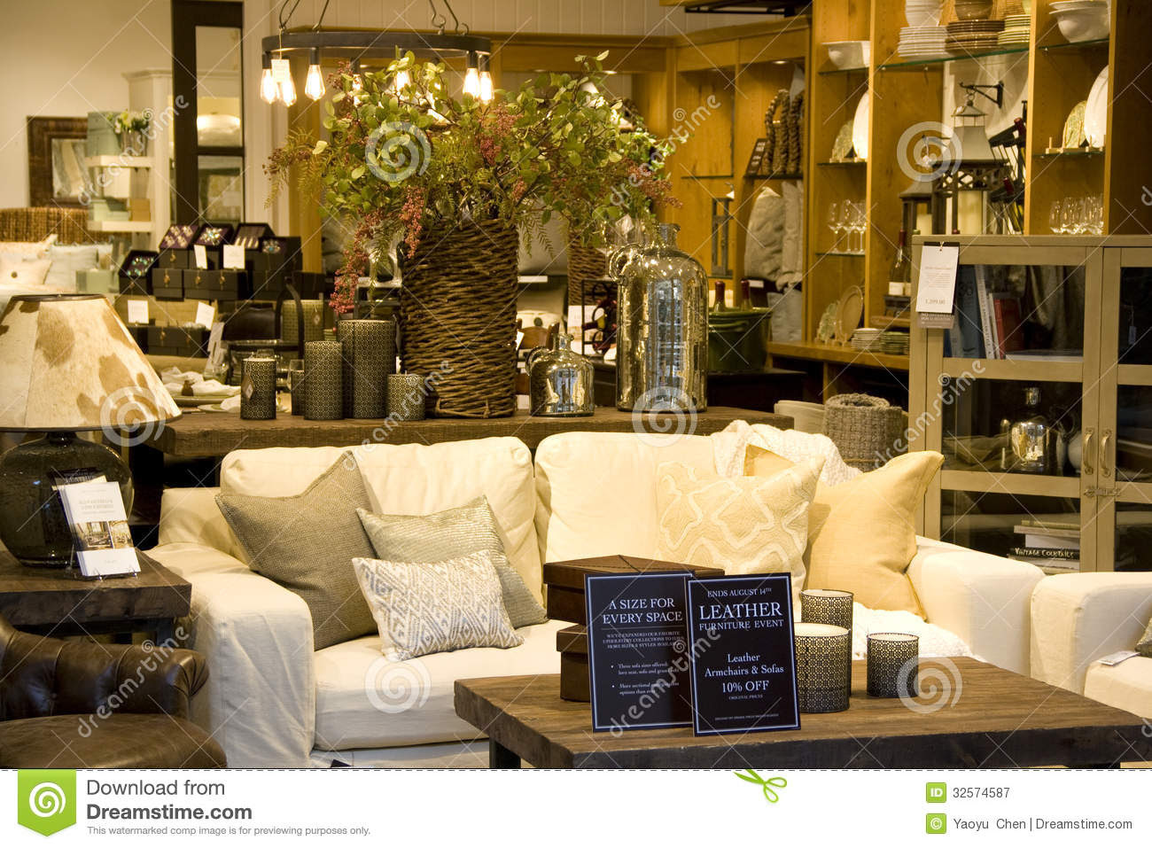 Furniture Home Decor Store Editorial Photography Image: 32574587