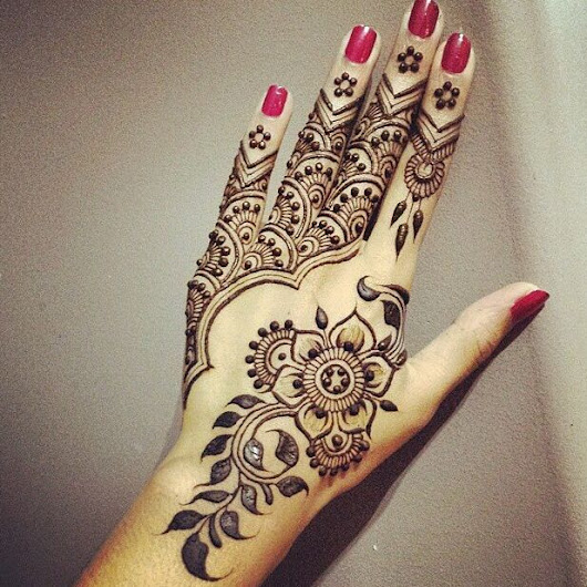The most effective method to Create Your Own Mehndi Designs