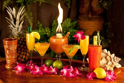 Hawaiian Themed Party Decorating Ideas for a house party