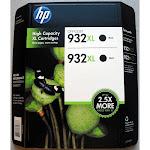 HP 932XL Ink Cartridge, Black - 1-pack
