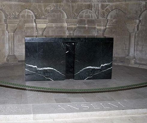 The Tomb of St. Anselm of Canterbury in Canterbury Cathedral, photo by Ealdgyth.