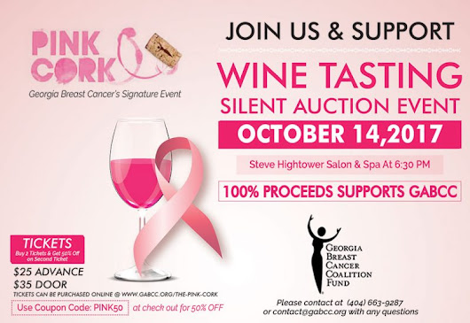 The Pink Cork, Georgia Breast Cancer's Signature Event