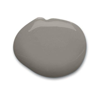 Sherwin-Williams gray paint color – Dovetail (SW 7018)  Pretty sure this is the color my mom used...so pretty esp, with white woodwork